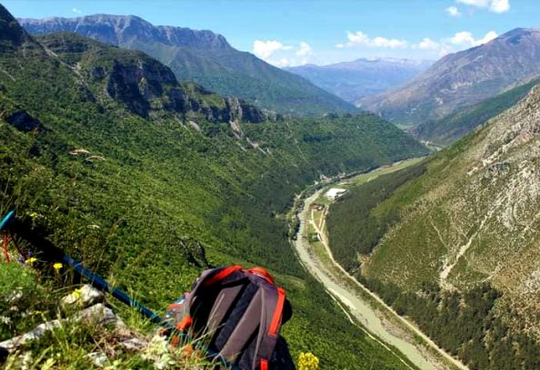 Gryka e Këlcyrës - Lugina e Vjosës, Mali Trebeshinë, Përmet